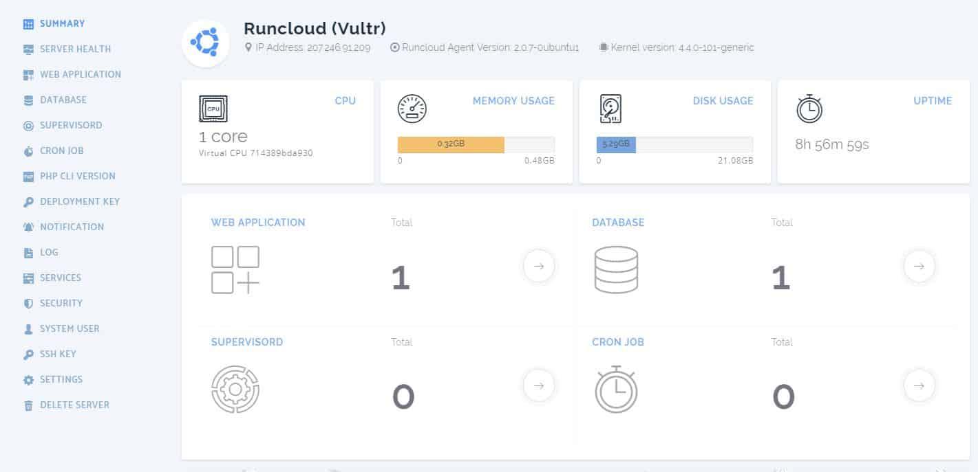 ServerPilot Vs RunCloud Speed Comparison On WordPress
