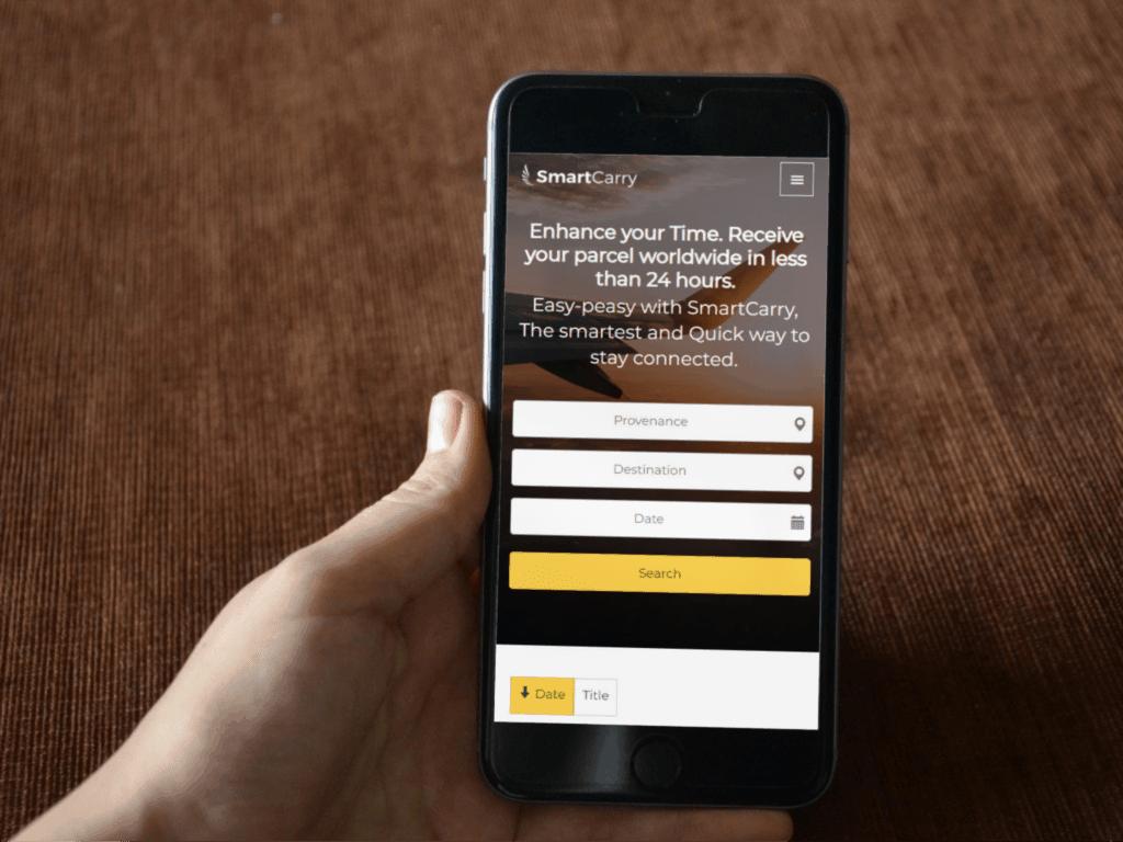 CrowdShipping Website based on WordPress - Quvor