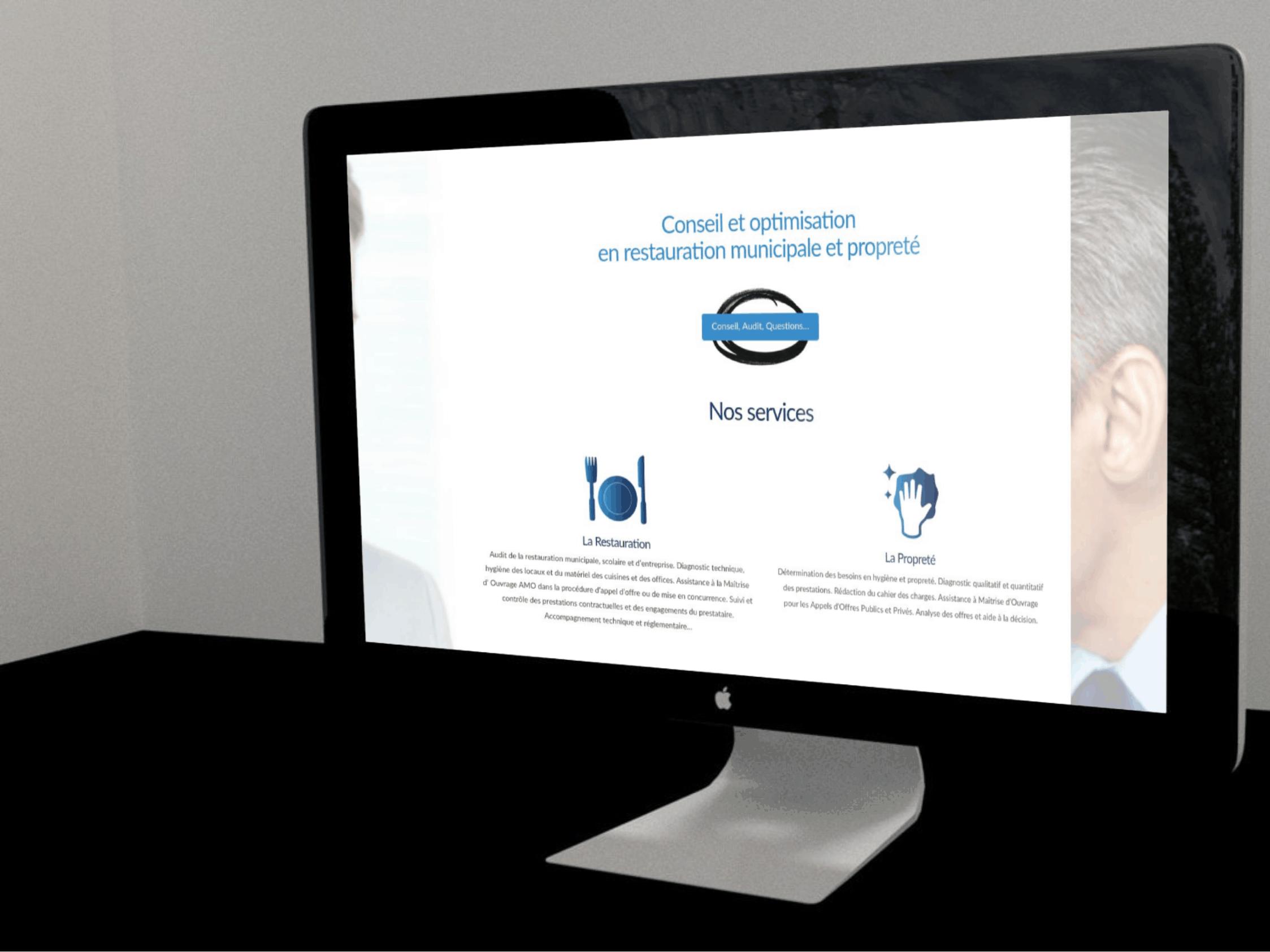 Website Development for Municipal Cleaning & Consultation Company - Quvor
